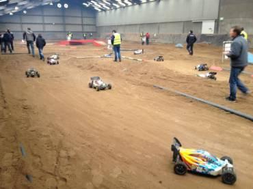 Startaufstellung Supercross Veldhoven 2013